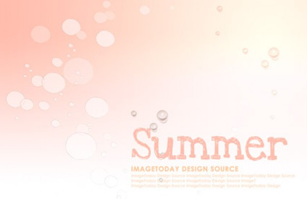 korean style summer background layered material