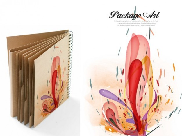 application of book with art series graffiti printing