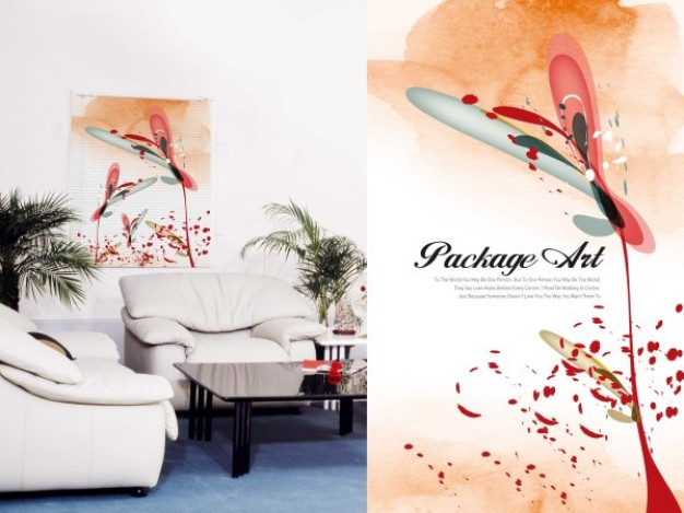 application of wallpaper with art series graffiti printing
