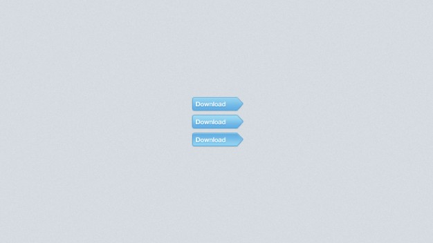 blue download buttons with light blue background
