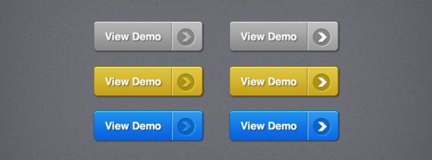 call to action buttons with view demo sign