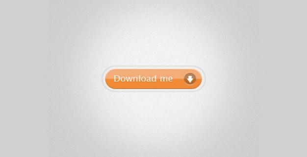 glossy orange web ui button with download me sign