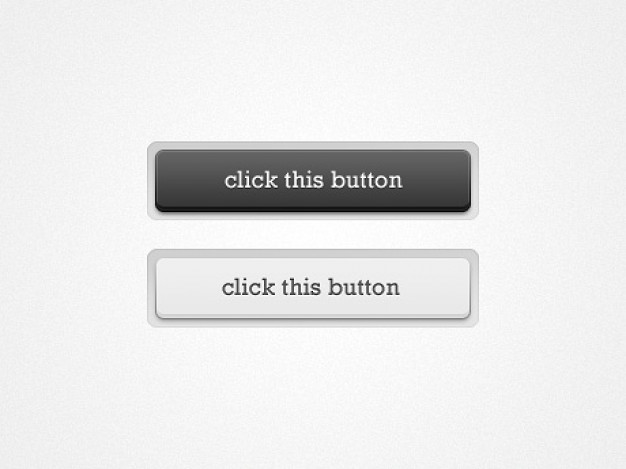 slick elements with click this button sign