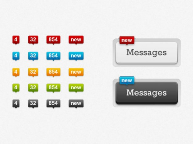 sophisticated dialog message number layered material