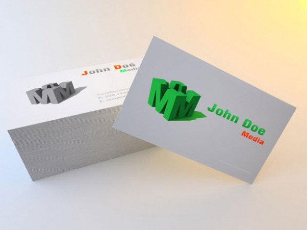 exquisite color business card Bar layered material