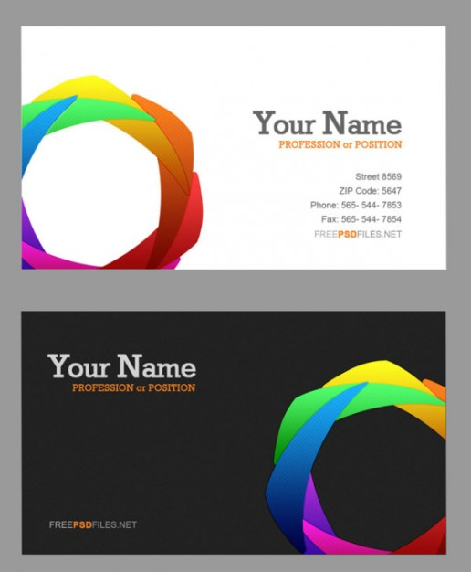 exquisite color wheel card layered material with colorful Wheel