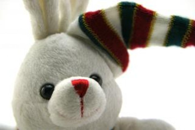 Easter adorable Holiday generic stuffed bunny whimsical about Easter Bunny Stuffed toy