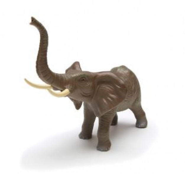 Elephant Amboseli National Park toy about carve