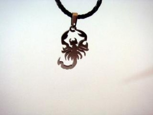 Jewelry scorpion Shopping chain symbol art about Necklace Jewellery