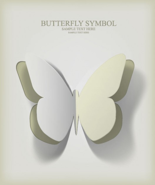 butterfly cutback in white template