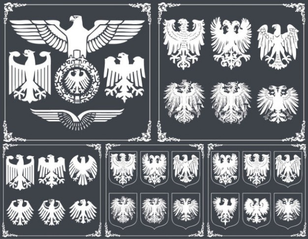 eagle pattern for Army material in Frame