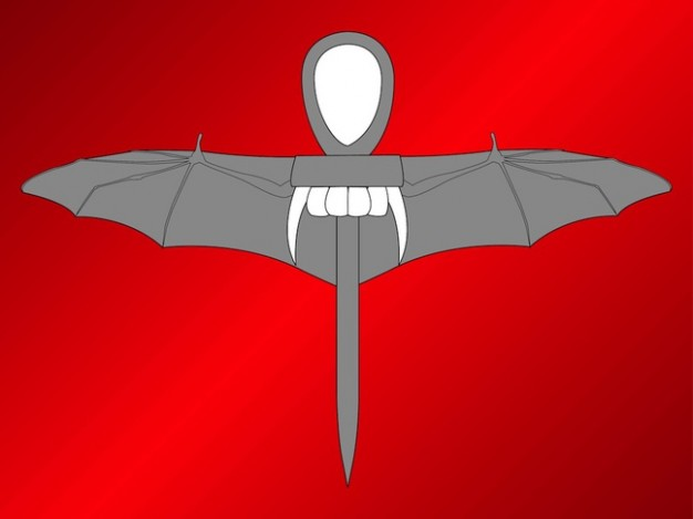 egypt Vampire ankh vector pack for halloween