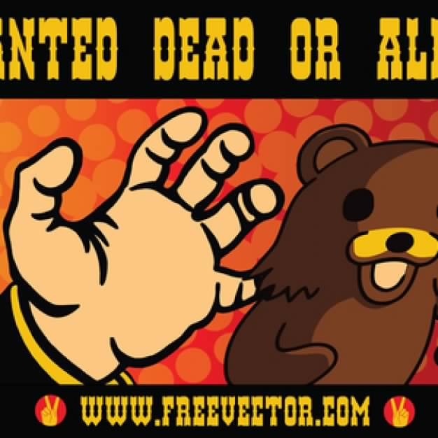 Wanted poster: Dead Or Alive