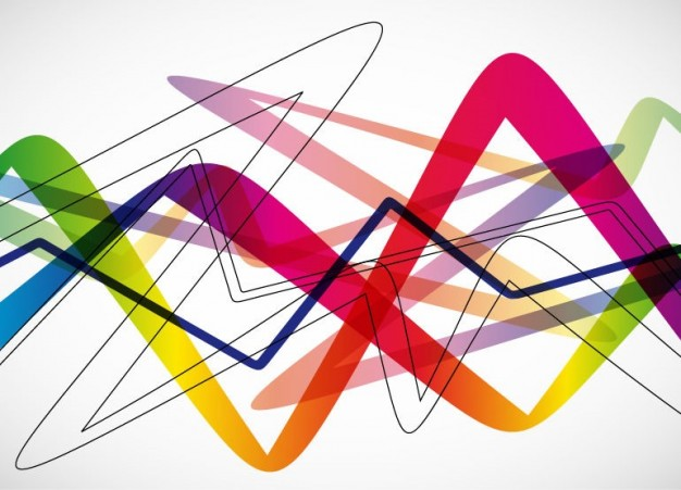 Adobe Photoshop Abstract Graphics Background With Colorful