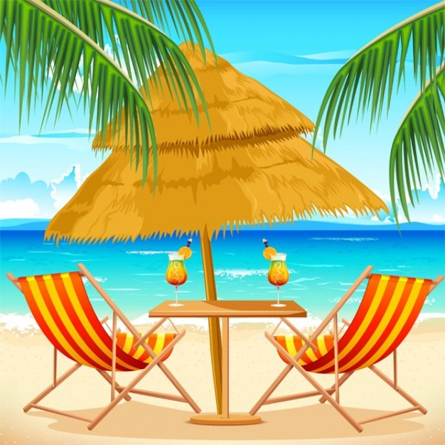 Island tropical Beach beach getaway summer background about Caribbean Travel and Tourism