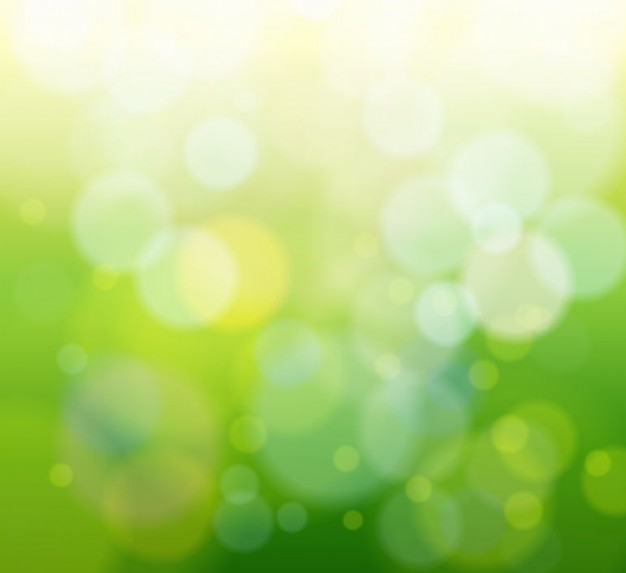 abstract green Defocused light background graphic