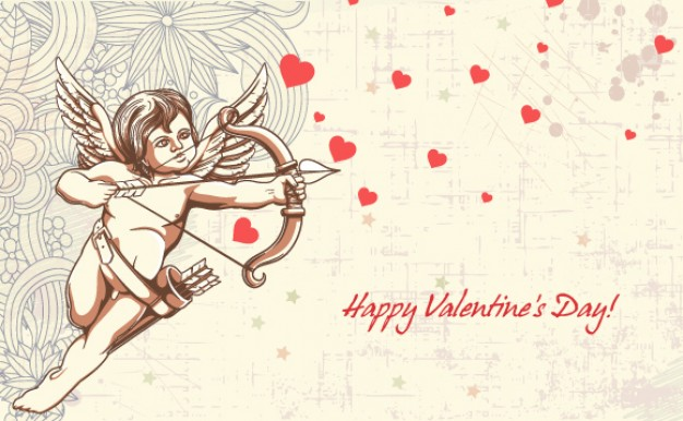 Babbit arrow Valentine's Day valentine Cupid s day illustration about Holiday Home