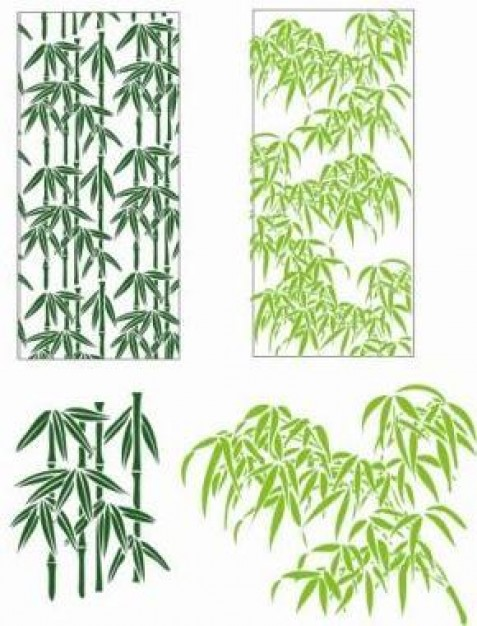 Bamboo Glade leaves about chinese Plant