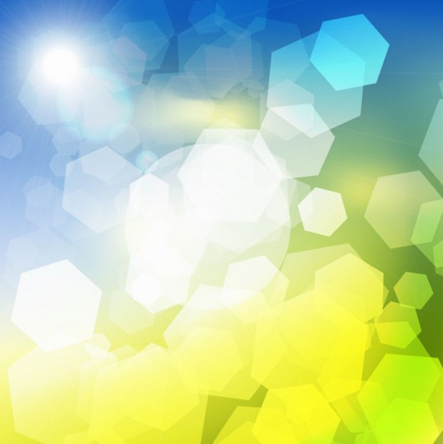 Bokeh abstract light grids blue green light background about Shopping Adobe Photoshop