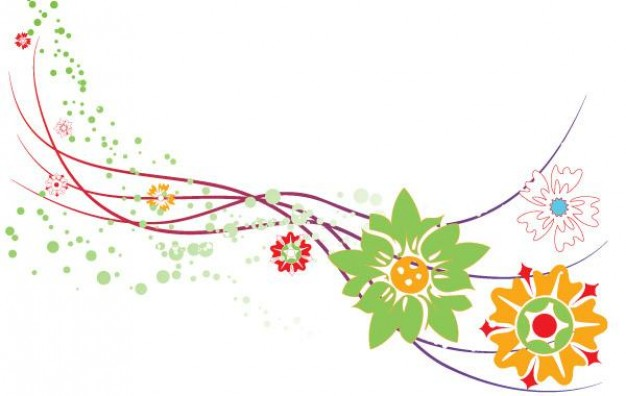 Botany abstract Flower design graphic about Shopping Business and Economy