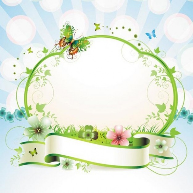 Butterfly spring Recreation butterfly frame background pack about Butterflies ribbon
