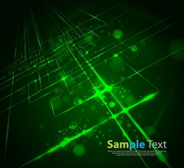 green Graphics abstract Geometry modern virtual technology logo about Adobe Photoshop Geometric art