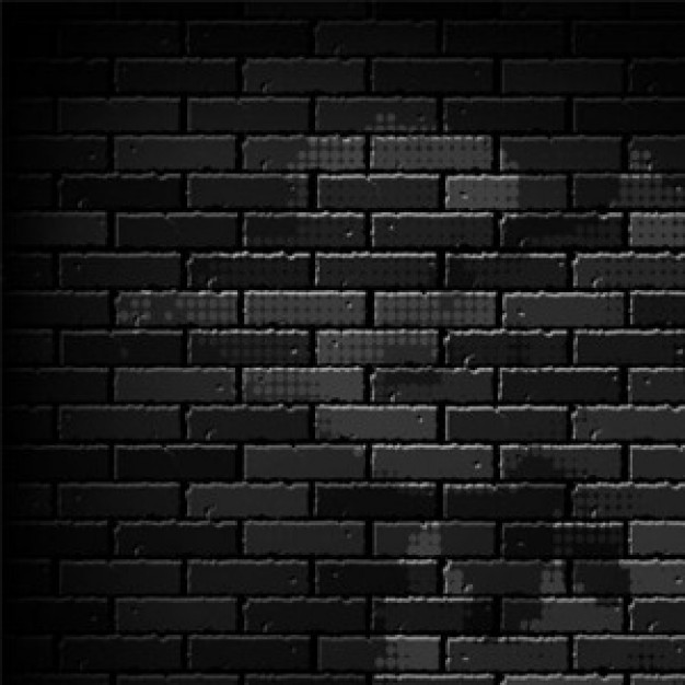 Grunge dark Art brick wall as a background about Construction and Maintenance art