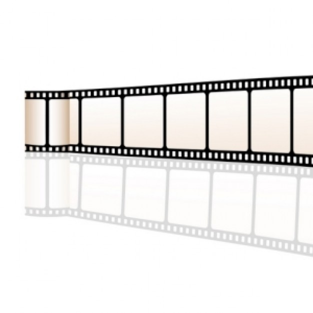 Movies film Arts reel about movie material