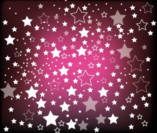 Puzzle rain Games of stars on purple background about pattern