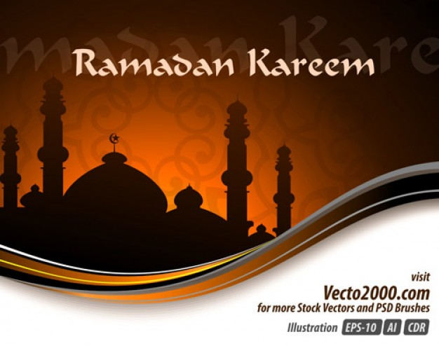 Ramadan elegant Islam illustration concept for ramadan kareem template ...
