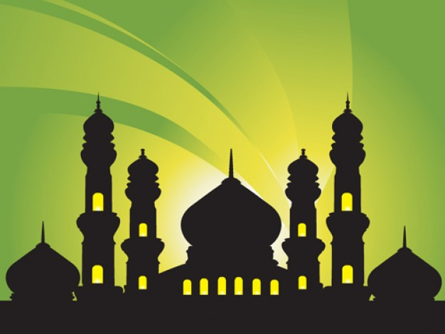 Ramadan mosques Islam abstract background about Quran Muslim