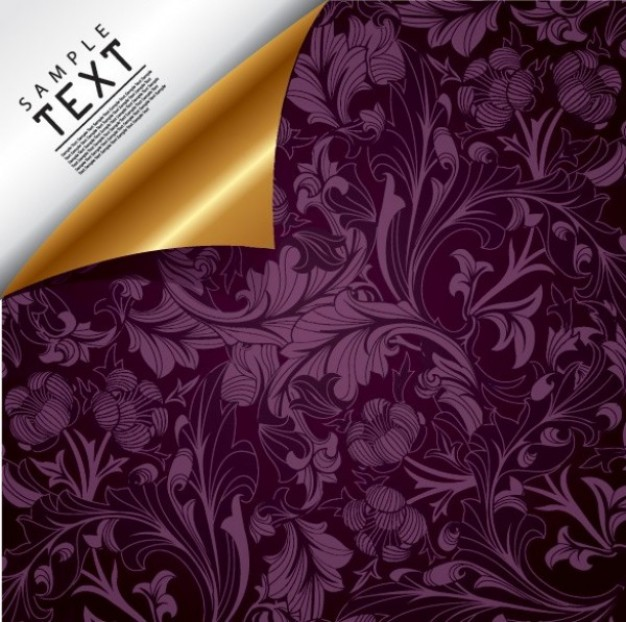 texture dark Floral design purple vintage floral background about Antiques and Collectibles Clothing