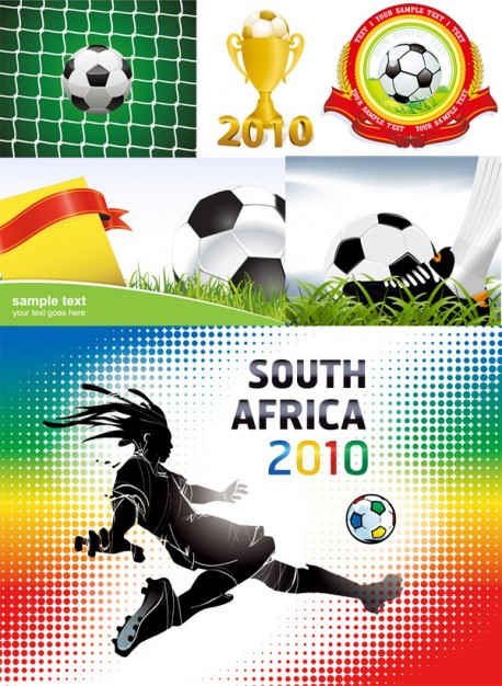 album material of 2010 south africa football world cup