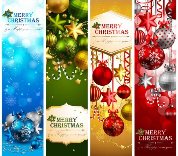 beautiful elements material of christmas theme