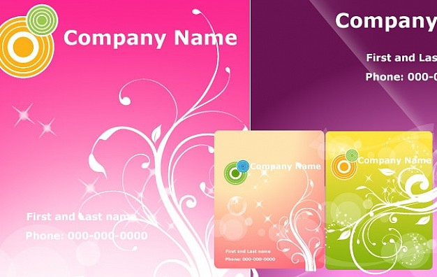 businness banners for company Presentation template