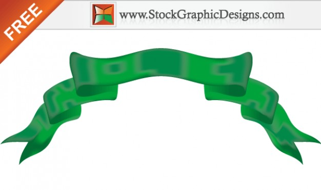 colour banner image with green Ribbon