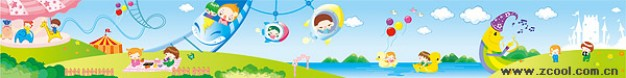 long pieces of south korea s cute illustration with pleasure ground