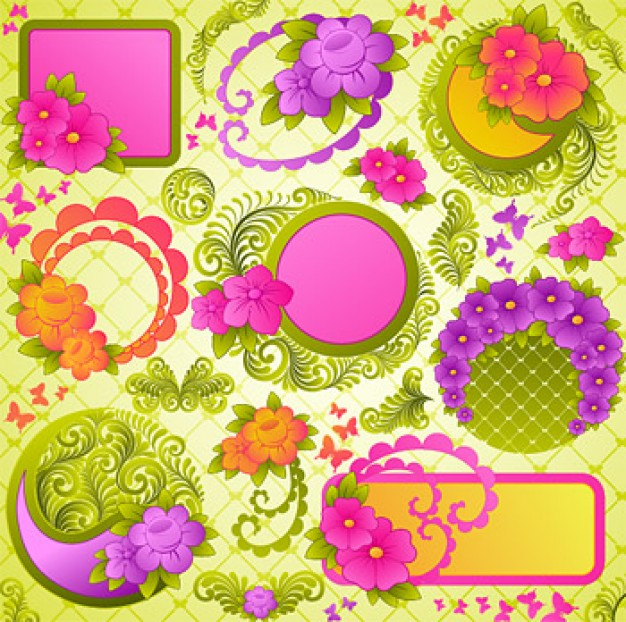 lovely decorative lace pattern material