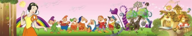 snow white and the seven dwarfs princess