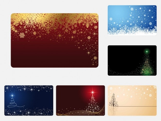 Christmas set Greeting card of colorful greeting cards about Card stock Shopping