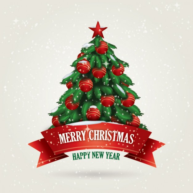 Christmas snowing Holiday christmas card about New Year Holiday greetings