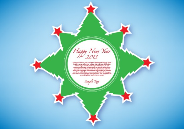 New Year happy Holidays new year green sticker about Christmas Austria