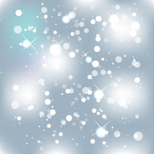abstract magic and festive light bubbles background