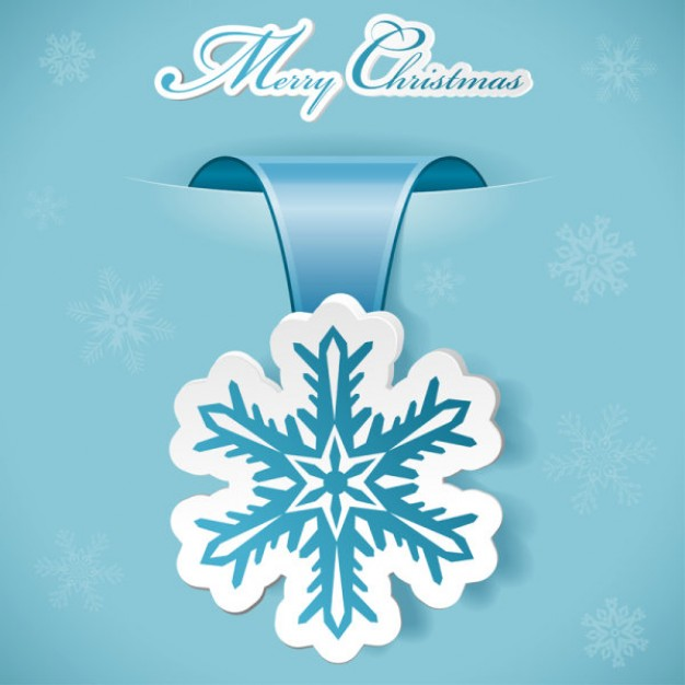 blue style Snowflake beautiful Game of Thrones snowflake tag about Snow Business