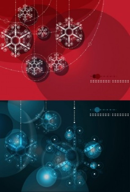 brilliant Snow ball background red blue snow winter smart bright about Christmas card design