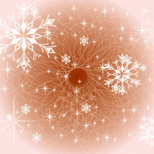 brown Home winter design about snowflakes Pink background