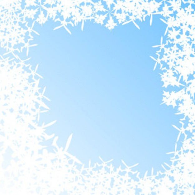 Christmas blue Snowflake abstract background with snowflakes about winter Crafts