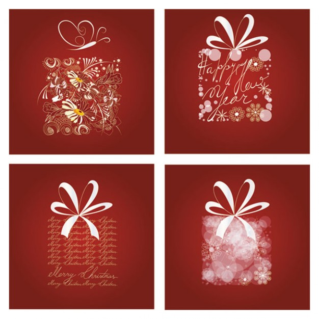 Christmas delicate Business pattern about red style