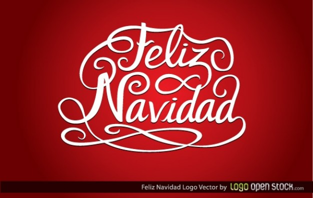 Christmas feliz Feliz Navidad navidad about Holiday card in red