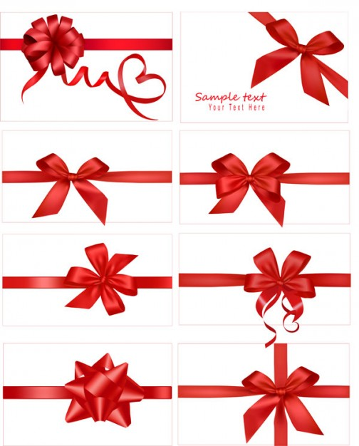 Christmas festive Gift gift bow about Gift wrapping Shopping material